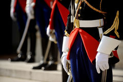 Ceremonial guards of honor Royalty Free Stock Photos