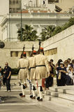 Ceremonial of guards parade Royalty Free Stock Photo