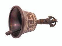 Ceremonial hand bell Stock Photo