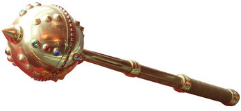 Ceremonial mace of Ukrainian Hetmans Stock Photography