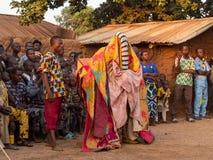 Free Ceremonial Mask Dance, Egungun, Voodoo, Africa Royalty Free Stock Images - 180094729