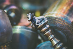 The ceremonial Nandi scepter Royalty Free Stock Photography