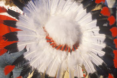 A ceremonial Native American headdress Royalty Free Stock Image
