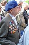 Ceremonial parade at Kiev Royalty Free Stock Images