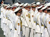 Ceremonial parade Stock Image