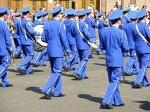Ceremonial parade Stock Photography