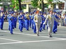 Ceremonial parade Royalty Free Stock Photos