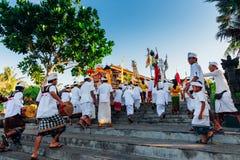 Ceremonial procession, Bali, Indonesia Stock Photo