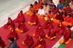 Ceremonial in Rishikesh Fotografia Stock Libera da Diritti