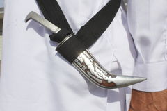Ceremonial Sword, Dagger or Kirpan Stock Images