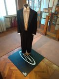 Ceremonialny kostium będący ubranym Ivo AndriÄ ‡ obrazy stock