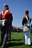 Ceremonias conmemorativas en el fuerte York Foto de archivo libre de regalías
