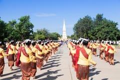 Ceremonias de la danza para adorar las reliquias. Imagenes de archivo