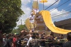 Ceremonibegravningkremering Arkivfoto