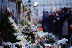 Ceremonie pogrzebowe dla królewiątka Michael Ja Rumunia obraz royalty free