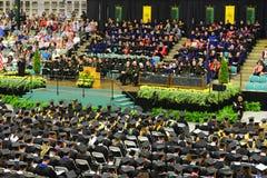 Ceremonie van de Clarkson de Universitaire 2014 Graduatie Royalty-vrije Stock Fotografie
