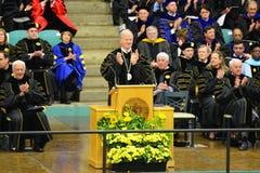 Ceremonie van de Clarkson de Universitaire 2014 Graduatie Stock Foto's