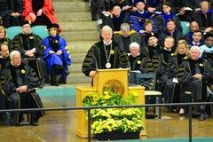 Ceremonie van de Clarkson de Universitaire 2014 Graduatie Royalty-vrije Stock Afbeelding