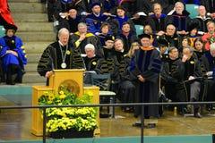 Ceremonie van de Clarkson de Universitaire 2014 Graduatie Royalty-vrije Stock Afbeeldingen