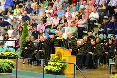Ceremonie van de Clarkson de Universitaire 2014 Graduatie Royalty-vrije Stock Foto's