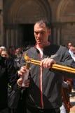 Ceremonie van het Heilige mirakel van de Brand Royalty-vrije Stock Fotografie