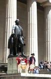 Ceremonie voor de Verklaring van Onafhankelijkheid bij Federale Zaal royalty-vrije stock fotografie