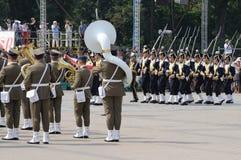 ceremoniell guard royaltyfri foto