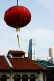 ceremoniell kinesisk lykta Royaltyfri Bild