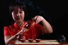 ceremonii herbata Fotografia Royalty Free