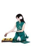 ceremonii herbaty Zdjęcie Stock