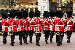 ceremonii odmieniania strażnicy Obraz Royalty Free
