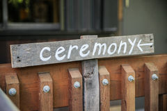 Ceremony Royalty Free Stock Image