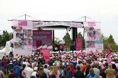 Ceremony Avon Breast Cancer Stock Photo