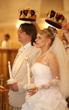 Ceremony in church Royalty Free Stock Photography