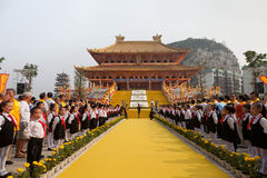 Ceremony for Confucius Royalty Free Stock Photography
