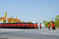 Ceremony of cremation Princess Thailand. Royalty Free Stock Photography