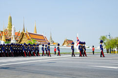 Ceremony of cremation Princess Thailand. Royalty Free Stock Images