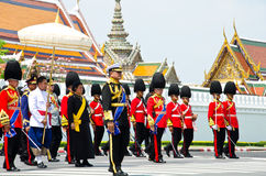Ceremony of cremation Princess Thailand. Stock Photography