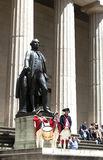 Ceremony for the Declaration of Independence at Federal Hall Royalty Free Stock Photography