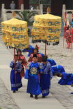 The Ceremony for the Emporer Yongle at his Ming Grave Royalty Free Stock Photography