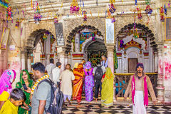 Ceremony at Janaki Mandir Royalty Free Stock Photos