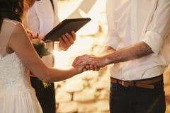 Ceremony. Photo beauty nice wedding ceremony Royalty Free Stock Photo
