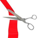 Ceremony scissors Stock Photos