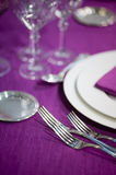Ceremony silverware Royalty Free Stock Images