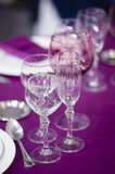 Ceremony silverware Royalty Free Stock Photography