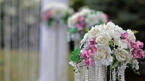Ceremony wedding decorations Royalty Free Stock Image