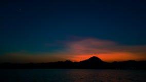 Cerenity av natten Arkivfoto