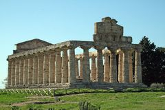 Ceres paestum Italien stockbild