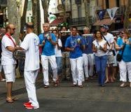 Ceret, an annual festival known as La Feria de Ceret Stock Photos