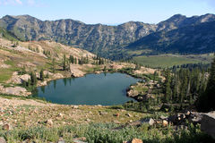 Ceret Lake, Utah Royalty Free Stock Photos